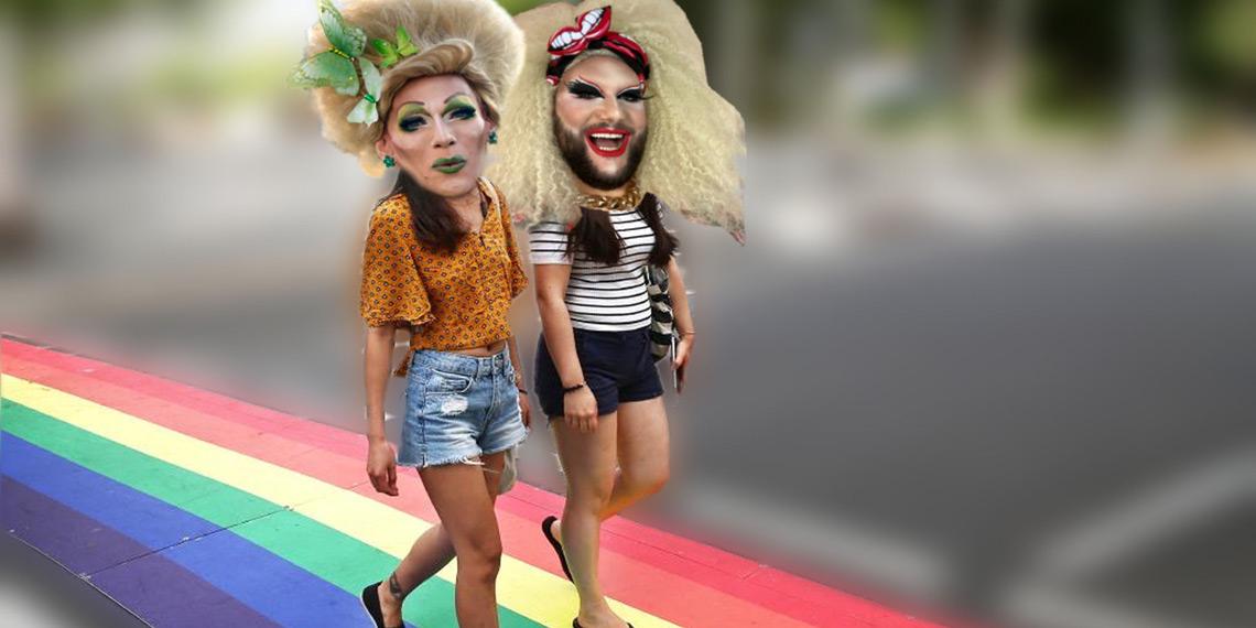 Lesbische Frauen Auf Dem Highway