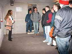 Besichtigungshighlight 2003: Die Führung durch die Bunkeranlagen im U-Bhf. Gesundbrunnen durch den Berliner Unterwelten e.V.