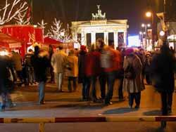 Lichterzauber am Brandenburger Tor.