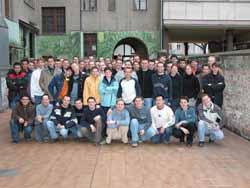 Das Abschiedsgruppenbild 2003.