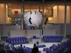 Besichtigungshighlight 2004: Der <br />   Deutsche Bundestag