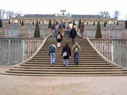 Highlight der Potsdam-Tour: Das Schloß Sanssouci.