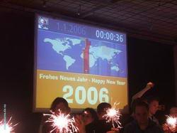 Jedes Jahr mit dabei: Die große Weltzeituhr.