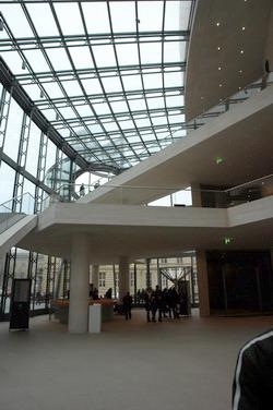 Im Foyer des Deutschen Historischen Museums.