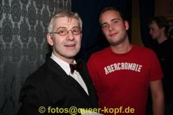 Immer für euch da: Frederic und Hendrik.