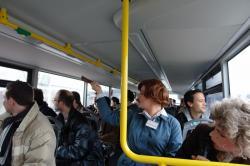Stadtrundfahrt 2007: »Da oben!«