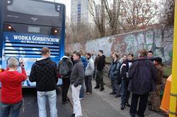 Stadtrundfahrt 2007: Pinkelpause Nummer 1 – Auf dem Prenzlauer Berg