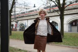 Berlin, 3° C – Die Frisur hält.