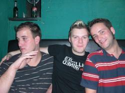 Nico, Basti und Hendrick bei BUMP
