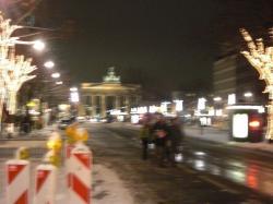 Stadtrundgang: Brandenburger Tor (etwas unscharf)