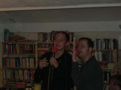 Karaoke: Tobi und Markus