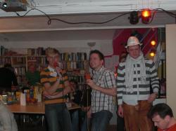 Karaoke: Alex und Lasse