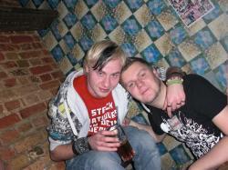 Ackerkeller: Chris und Basti
