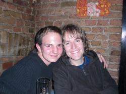 Ackerkeller: Tobi und Sebastian