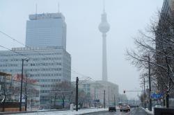 Blick zum Alexanderplatz.