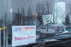 Stadtrundfahrt im eigenen Großen Gelben.