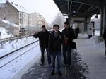 Berliner S-Bahn im Winter = Warten & Frieren.