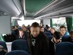 Im Bus.
