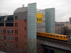 Deutsches Technikmuseum Berlin: Blick von der Terrasse