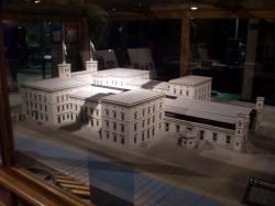 Deutsches Technikmuseum Berlin: Lokschuppen – Modell Hamburger Bahnhof