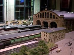 Deutsches Technikmuseum Berlin: Lokschuppen – Modell Anhalter Bahnhof