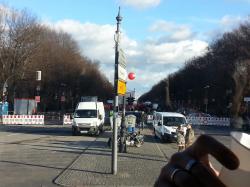 Stadtrundfahrt: An der Siegessäule
