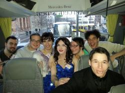 Stadtrundfahrt: Im Bus