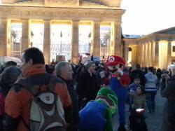 Am Brandenburger Tor