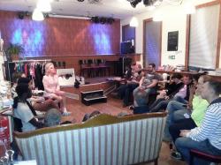 Tuntenworkshop mit Gaby Tupper und Sophie Migraine