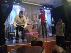 Showvorbereitung