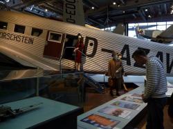 Deutsches Technikmuseum: Luftfahrt – Tante Ju (Ju-52)